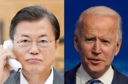 Cheong Wa Dae seeks Moon-Biden summit in April: sources