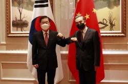 Wang says S. Korea, China will seek 'political' resolution process for Korean Peninsula issue