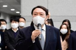 [Newsmaker] Yoon far ahead of rivals as presidential hopeful: poll