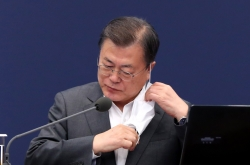 Moon urges halt to 'politicization' of COVID-19 vaccine issue