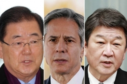 [Newsmaker] Top diplomats of S. Korea, US, Japan to hold talks at G-7 meeting