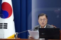 Moon says COVID-19 vaccine issue to be addressed in his upcoming US visit