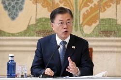 Moon expresses hope for closer S. Korea-Spain exchange at bilateral tourism biz roundtable