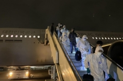 Aerial tanker carrying virus-hit Cheonghae unit heads home from Africa