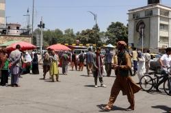 Taliban enters Kabul, awaits 'peaceful transfer' of power