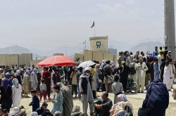 3 military planes carrying out operations to bring Afghan evacuees to South Korea: foreign ministry