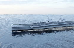 Hyundai Heavy, Babcock join forces for S. Korea's 1st aircraft carrier