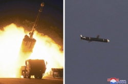 North fires ballistic missiles into East Sea