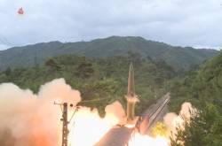 N. Korea missile launches show serious threat: Pentagon official