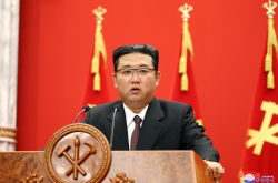 N. Korea leader calls for boosting military capabilities but says enemy is 'war itself'