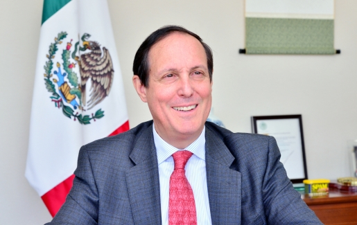Mexico top diplomat in Seoul optimistic on Seoul's Pacific Alliance associate membership prospects