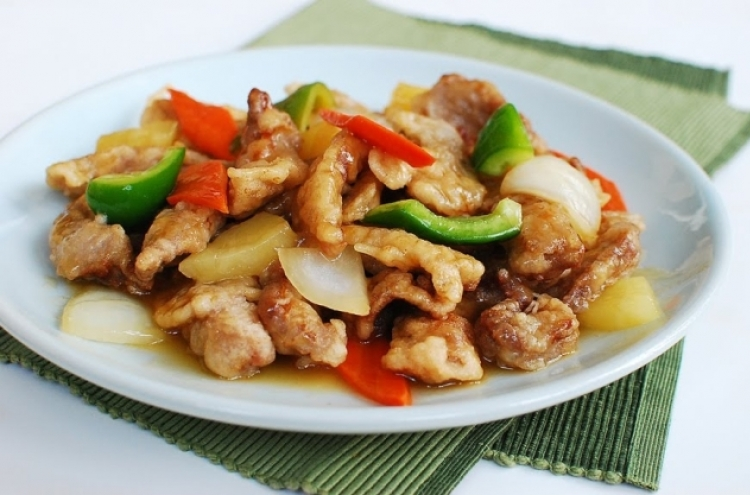 Tangsuyuk Sweet And Sour Pork