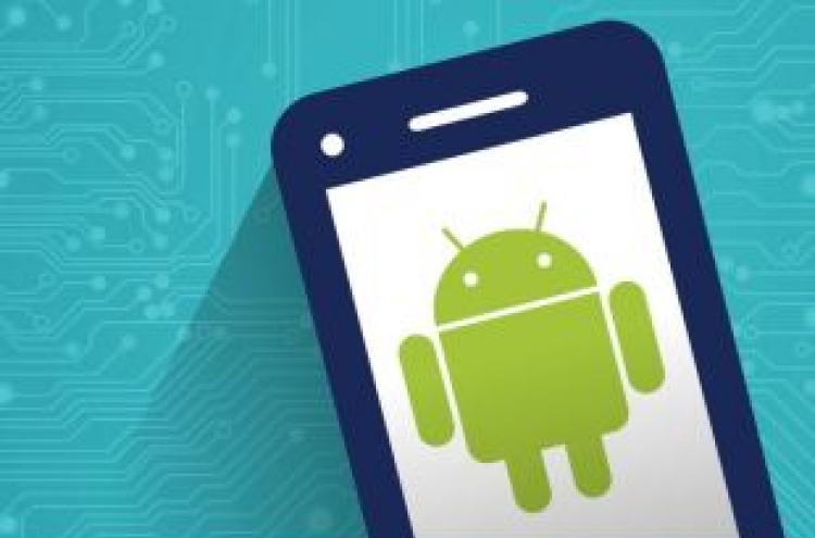 How much economic impact has Google's Android OS had in Korea?