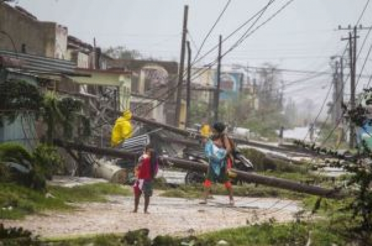 Hurricane Irma lashes Cuba; Jose poses threat elsewhere