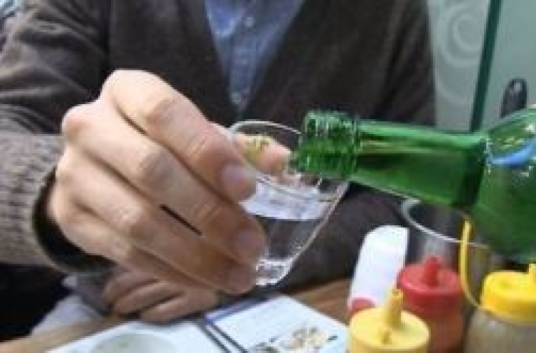 Light drinking can raise cancer risks for Koreans: report