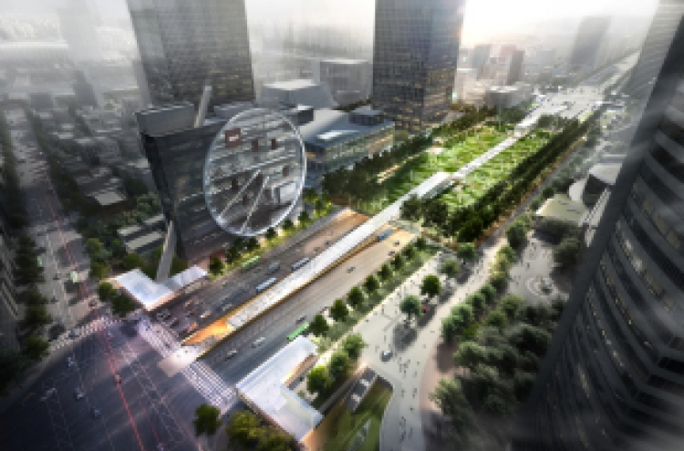 Massive underground transit terminal to be built in Gangnam