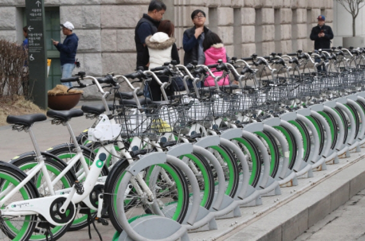 Seoul's public bike rental system takes off