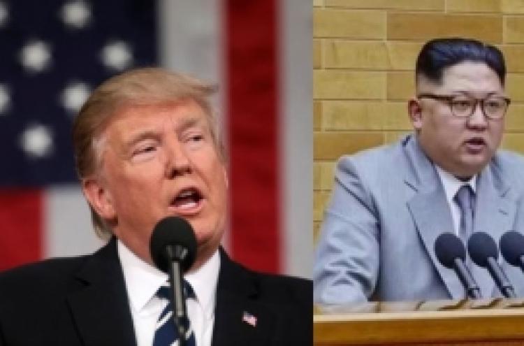 Trump sounds open to Korea dialogue, then mocks Kim Jong-un