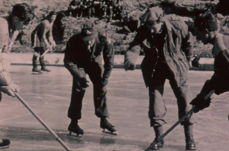 Footage shows Canadian soldiers during Korean War