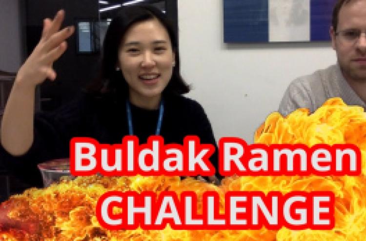 [Video] Buldak Spicy Ramen craze continues