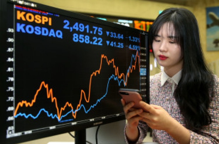 Hawkish Fed, strong dollar jolt Korean markets