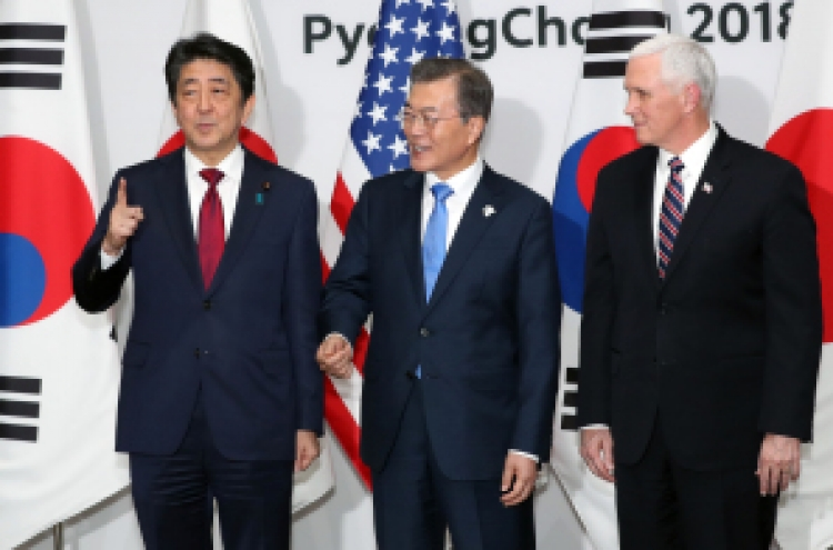 Chief delegates of US, N. Korea meet briefly at Olympic reception