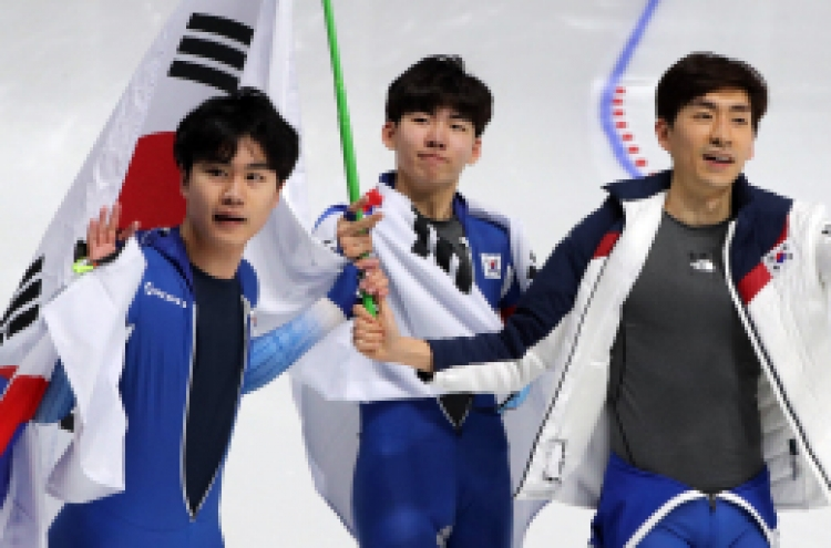 [PyeongChang 2018] S. Korea wins second straight silver in men's team pursuit