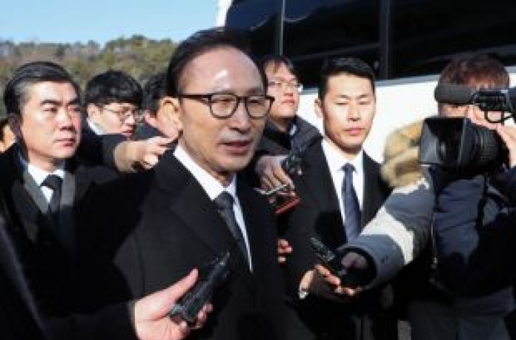 Lee to be fifth ex-president grilled by prosecutors