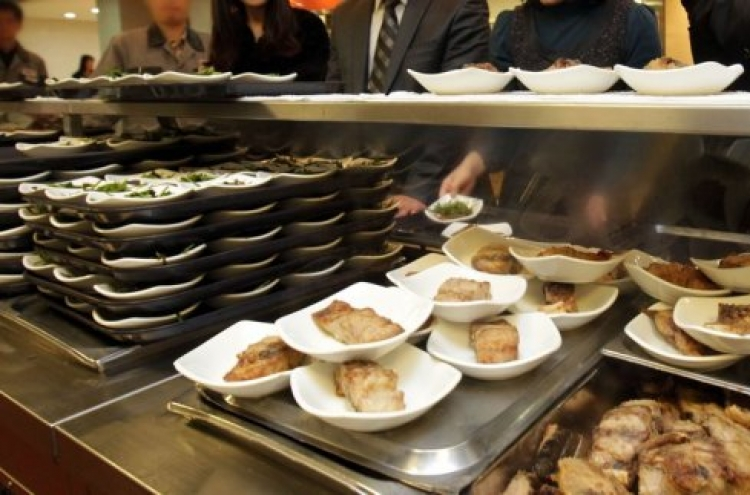1 in 3 Koreans feel office cafeterias unsafe: survey