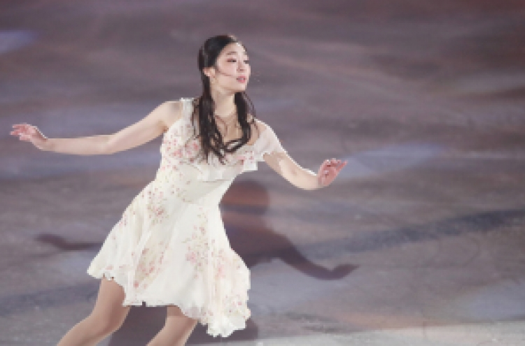[Photo News] Queen Yu-na graces ice once more