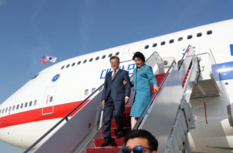 Moon, Trump to discuss NK in summit