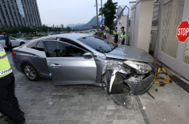 Gender equality ministry official slams car into US Embassy
