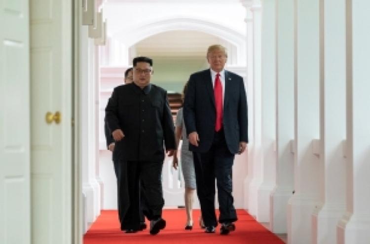 [US-NK Summit] Trump, Kim take first step toward peace on Korean Peninsula