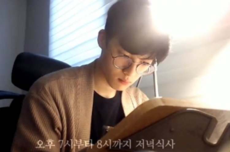 [Trending] Korean guy studying alone creates a huge following on YouTube