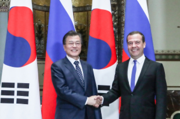 S. Korea, Russia to begin preparations for FTA negotiations: Moon