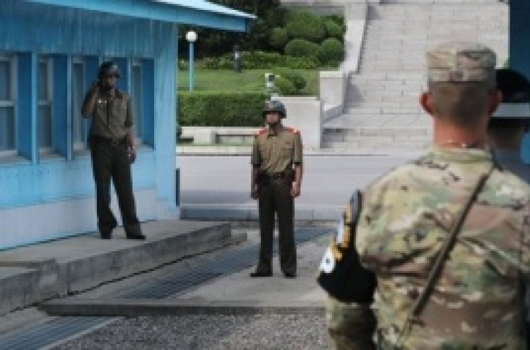 US sends wooden cases to inter-Korean border for return of soldiers' remains