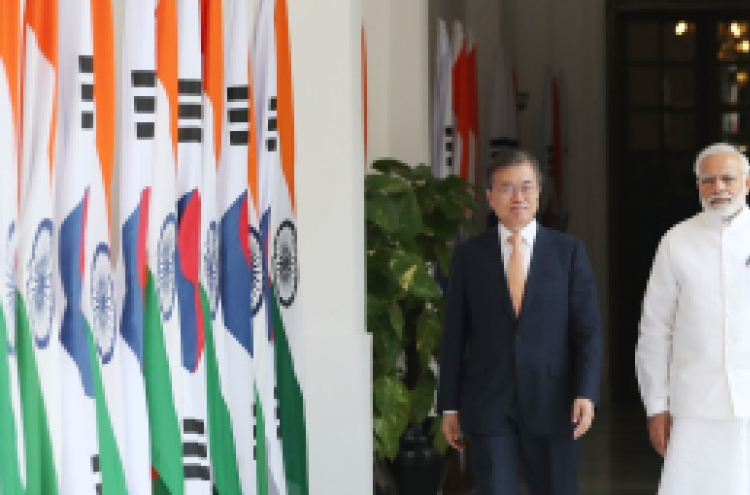 Full text of joint statement by S. Korean, Indian leaders