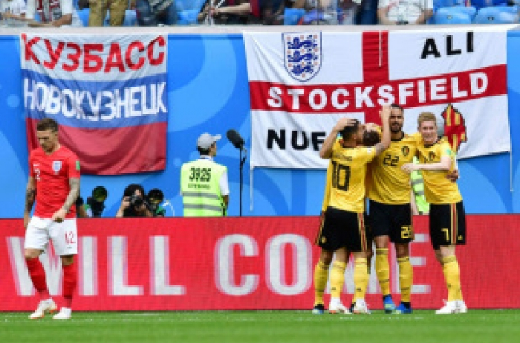 [Newsmaker] Belgium finishes 3rd at World Cup, beats England 2-0