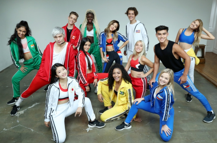 International pop group Now United poses for the camera