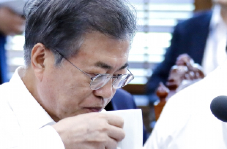 Moon yet to follow up on pro-business gesture