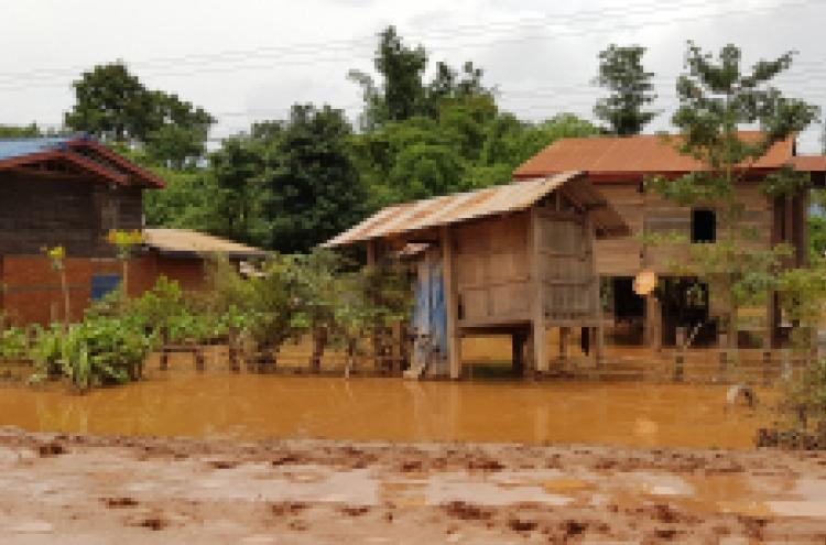 S. Korea sends relief supplies to Laos