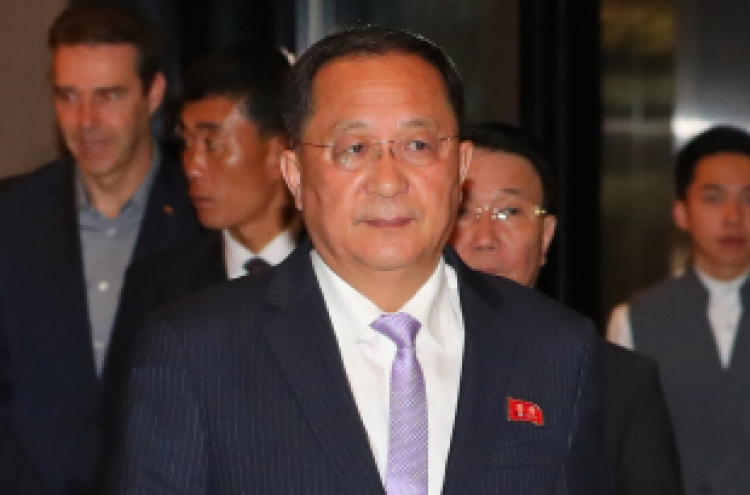 N. Korean foreign minister in Singapore for regional forum