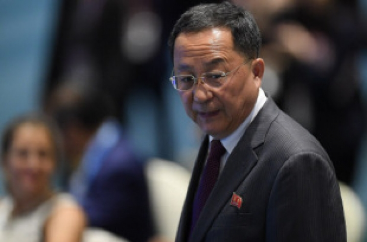 N. Korean minister says US is backtracking on Sentosa deal