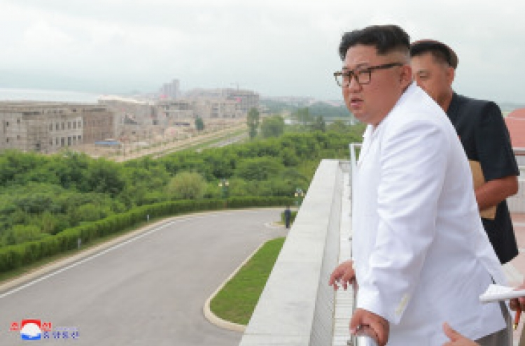 Kim Jong-un denounces international sanctions