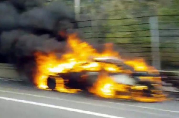 [Newsmaker] BMW blames Koreans' driving for fires: report