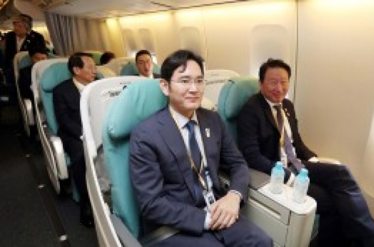 Chaebol chiefs head to Pyongyang with lips sealed about business in the North