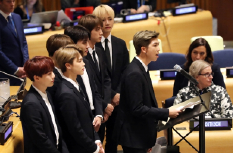 BTS' motivational UN speech transcends race and gender identity