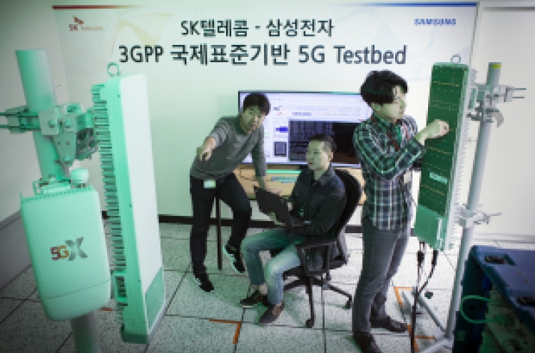 SK Telecom, Samsung announce successful 5G first call