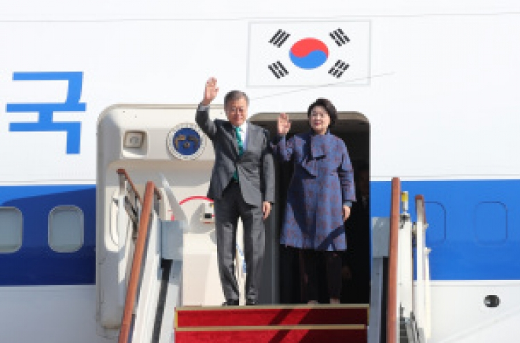 Moon's Europe trip yields mixed results
