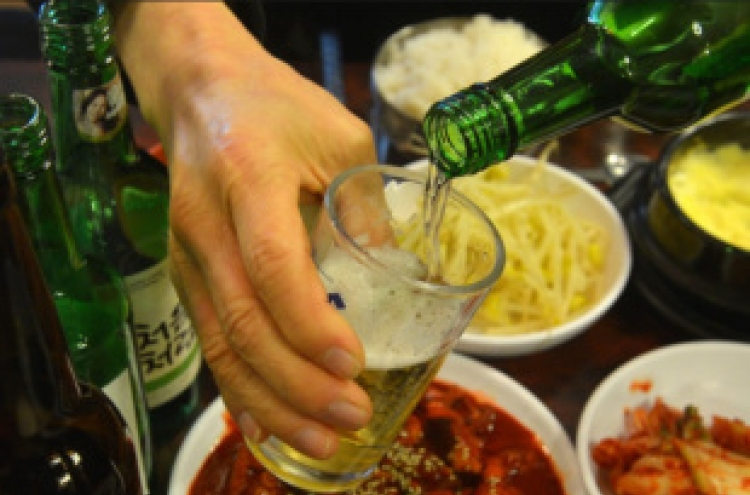 Seoul to ban ads with drinking scenes